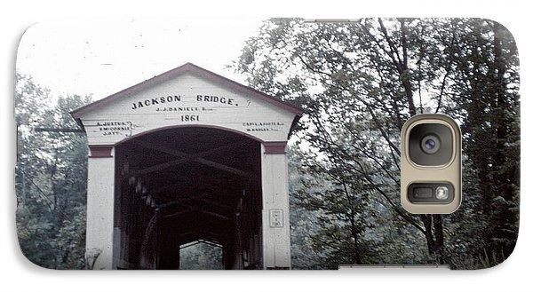 Galaxy Case featuring the photograph Jackson Bridge by John Mathews
