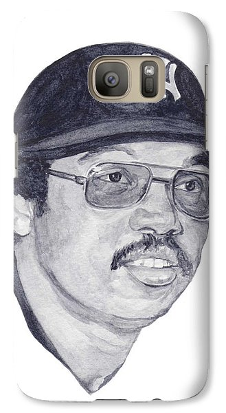 Galaxy Case featuring the painting Jackson by Tamir Barkan