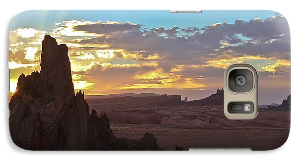 Galaxy Case featuring the photograph Jacob's Ladder by Atom Crawford