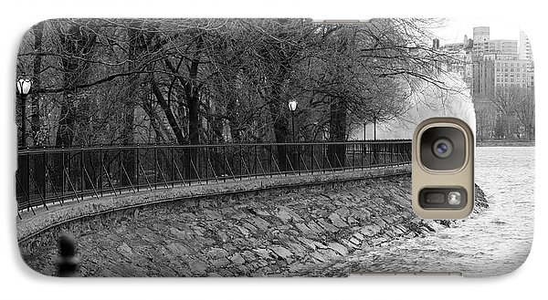Galaxy Case featuring the photograph Jacqueline Kennedy Onassis Reservoir Ny by Chris Thomas