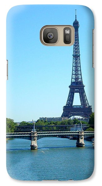 Galaxy Case featuring the photograph J'adore Paris by Kay Gilley