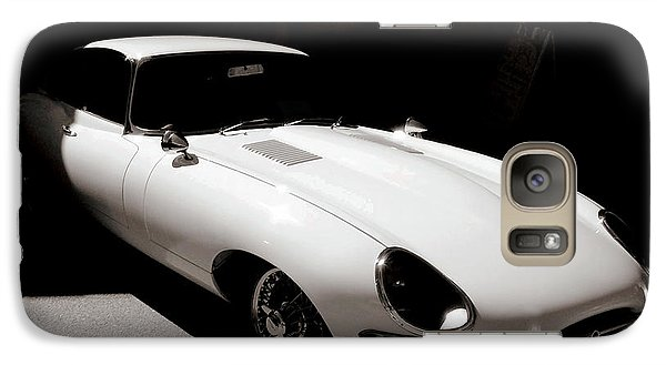 Galaxy Case featuring the photograph Jaguar E-type Coupe by Bob Wall