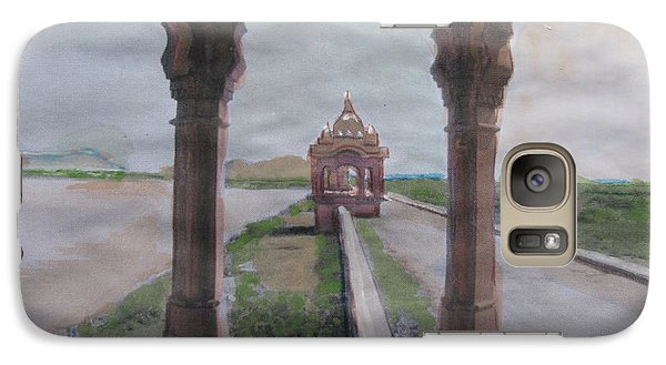 Galaxy Case featuring the painting Jaisamand by Vikram Singh