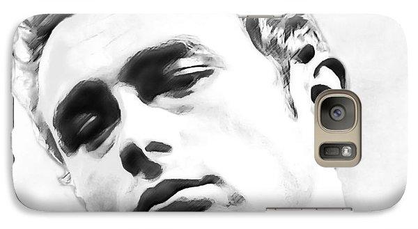 Galaxy Case featuring the digital art James Dean by David Blank
