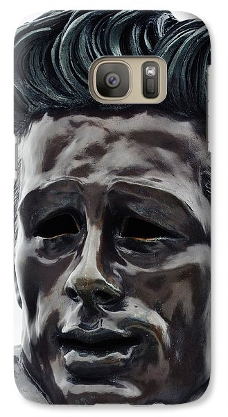 Galaxy Case featuring the photograph James Dean The Rebel by Kyle Hanson