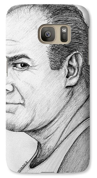 Galaxy Case featuring the drawing James Gandolfini by Patrice Torrillo