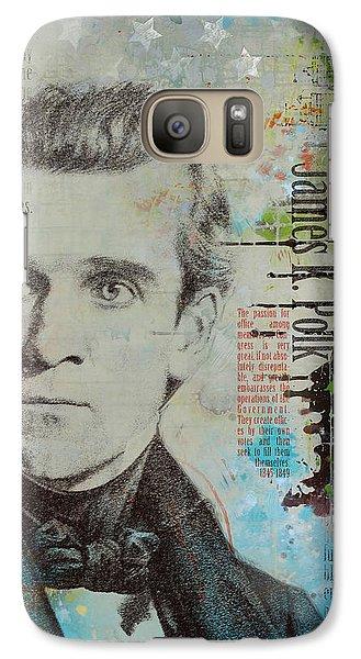 James K. Polk Galaxy S7 Case