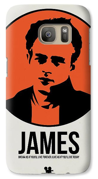 James Poster 1 Galaxy S7 Case by Naxart Studio