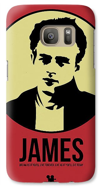 James Poster 2 Galaxy S7 Case by Naxart Studio