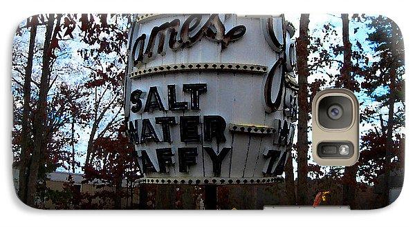 Galaxy Case featuring the digital art James Salt Water New Jersey Taffy by K Scott Teeters