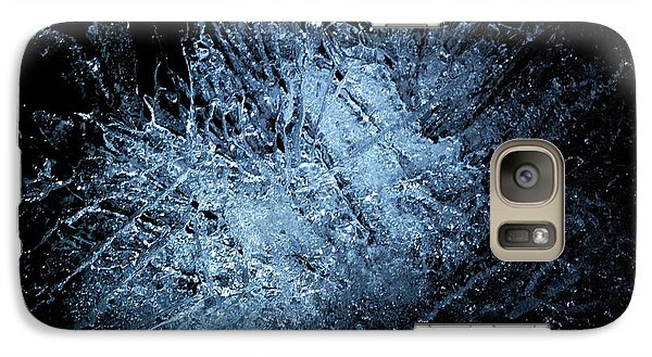 Galaxy Case featuring the photograph jammer Frozen Cosmos by First Star Art