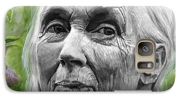 Jane Goodall Galaxy S7 Case