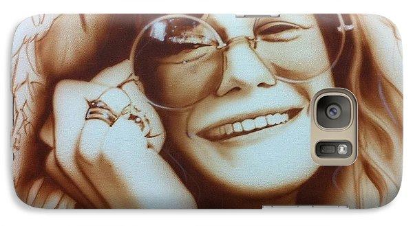Janis Joplin - ' Janis ' Galaxy S7 Case