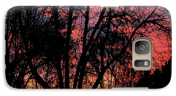 Galaxy Case featuring the photograph January Dawn by Luther Fine Art