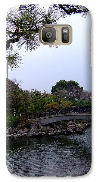 Galaxy Case featuring the photograph Japan by Andrea Anderegg