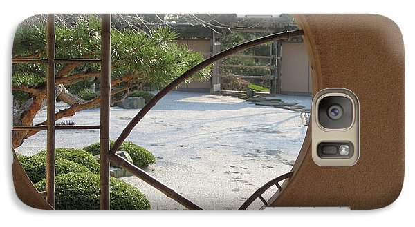 Galaxy Case featuring the photograph Japanese Garden by Kathie Chicoine