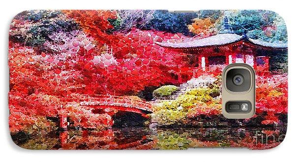 Mo Galaxy S7 Case - Japanese Garden by Mo T
