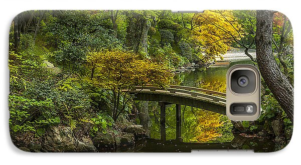 Galaxy Case featuring the photograph Japanese Garden by Sebastian Musial