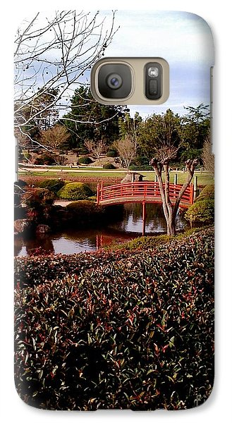 Galaxy Case featuring the photograph Japanese Gardens Toowoomba by Therese Alcorn