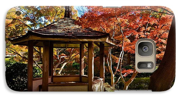Galaxy Case featuring the photograph Japanese Gazebo by Ricardo J Ruiz de Porras