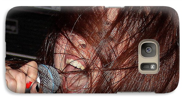 Galaxy Case featuring the photograph Japanese Intensity by Steven Macanka