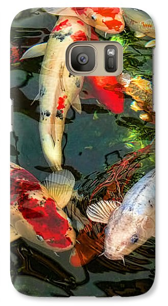 Japanese Koi Fish Pond Galaxy S7 Case