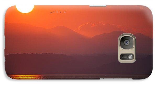Japanese Sunset Galaxy S7 Case