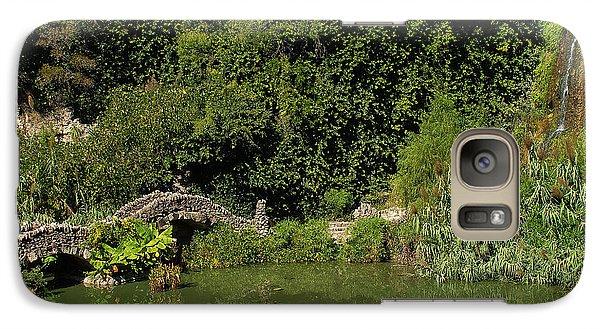 Galaxy Case featuring the photograph Japanese Tea Garden San Antonio Texas by Susan D Moody