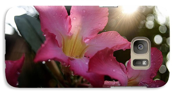 Galaxy Case featuring the photograph Jardin Du Matin by Miguel Winterpacht