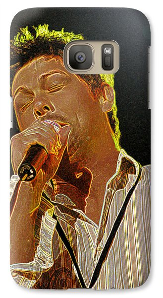 Galaxy Case featuring the photograph Jason Crabb by Don Olea
