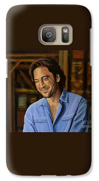 Javier Bardem Painting Galaxy S7 Case