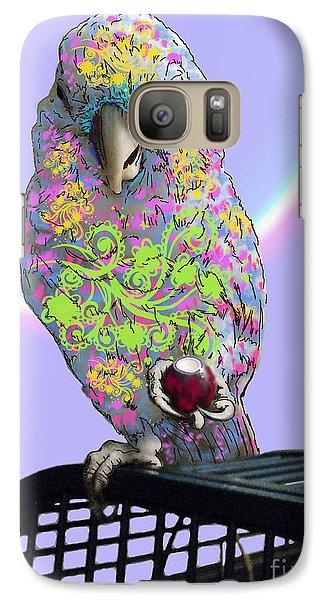 Galaxy Case featuring the photograph Jawbreaker-dandy by Megan Dirsa-DuBois