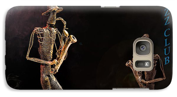 Galaxy Case featuring the photograph Jazz Club by Trevor Chriss