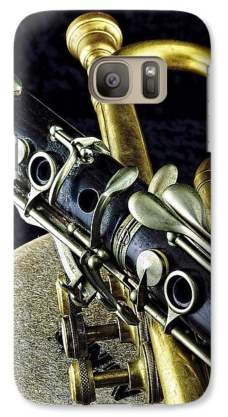 Galaxy Case featuring the photograph Jazz by Elf Evans