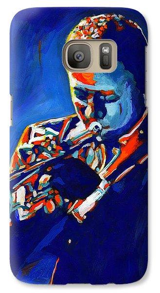 Jazz Man Miles Davis Galaxy S7 Case
