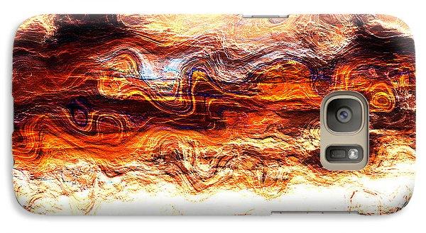 Galaxy Case featuring the digital art Jazz by Richard Thomas