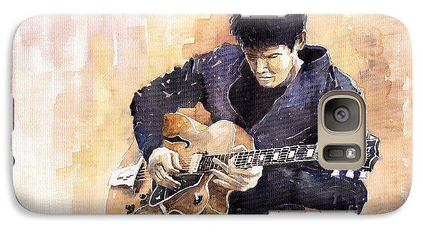 Impressionism Galaxy S7 Case - Jazz Rock John Mayer 02 by Yuriy Shevchuk