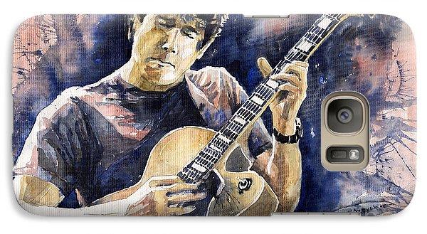 Impressionism Galaxy S7 Case - Jazz Rock John Mayer 06 by Yuriy Shevchuk