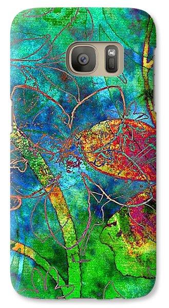 Galaxy Case featuring the digital art Jazzy by Darla Wood