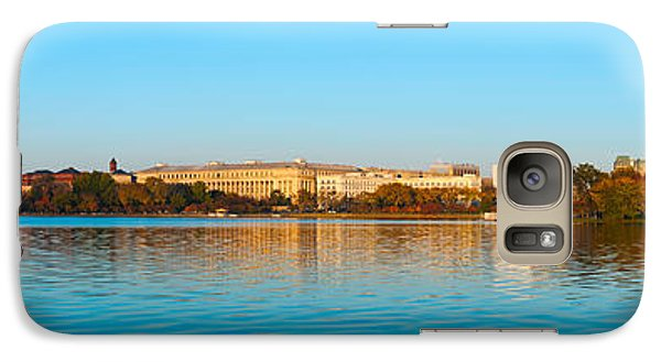 Jefferson Memorial And Washington Galaxy S7 Case by Panoramic Images