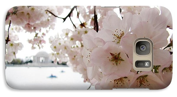 Galaxy Case featuring the photograph Jefferson Memorial by Jennifer Wheatley Wolf