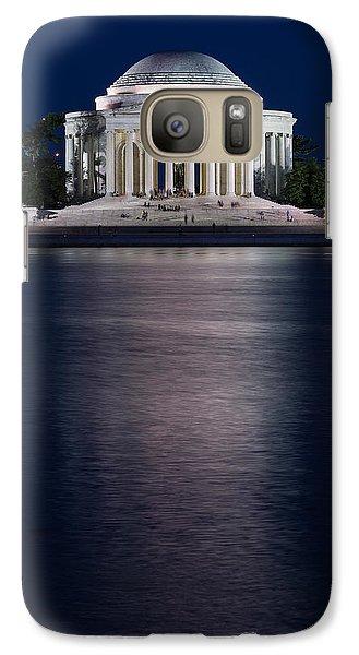Jefferson Memorial Washington D C Galaxy Case by Steve Gadomski