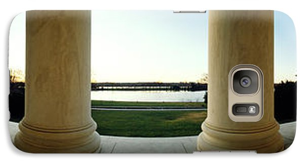 Jefferson Memorial Washington Dc Galaxy S7 Case by Panoramic Images