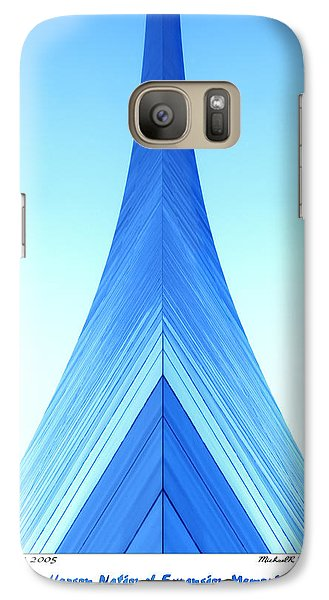 Mo Galaxy S7 Case - Jefferson National Expansion Memorial II by Mike McGlothlen