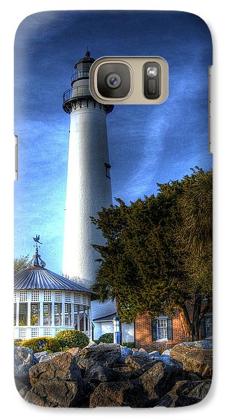 Galaxy Case featuring the photograph Jekyll Island Lighthouse by Donald Williams
