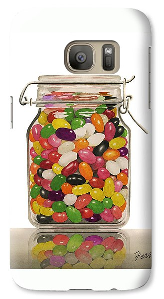 Galaxy Case featuring the painting Jelly Beans by Ferrel Cordle