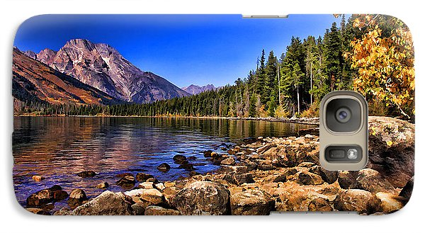 Galaxy Case featuring the photograph Jenny Lake by Clare VanderVeen