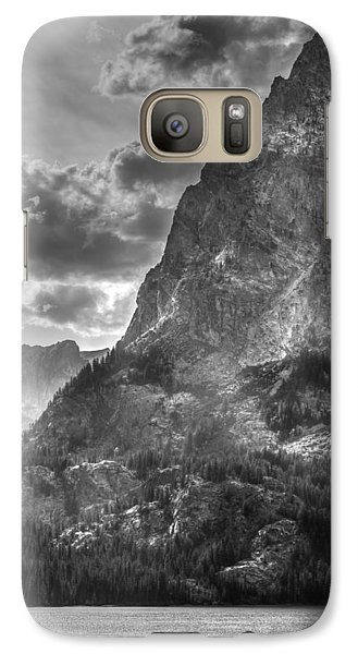 Galaxy Case featuring the photograph Jenny Lake In Shadow by Jeremy Farnsworth