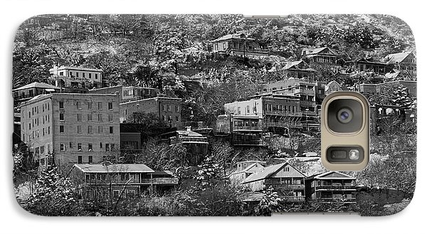 Galaxy Case featuring the photograph Jerome Az New Year's Snow by Ron Chilston