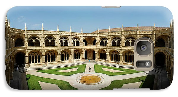 Galaxy Case featuring the photograph Jeronimos Monastary by Luis Esteves